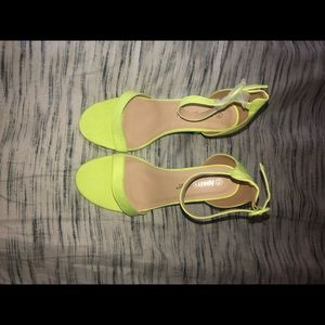Ashely Stewart Two Inch Sandals